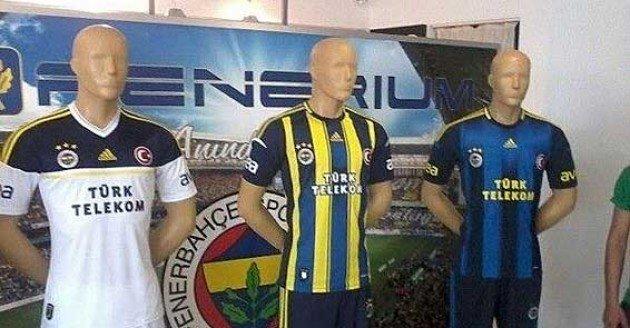 Fenerbahçe 2012 2013 yeni sezon formalar